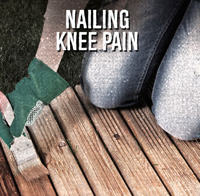 Nailing knee pain