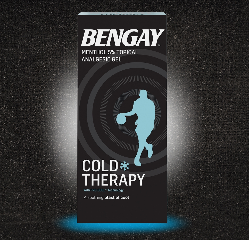 BENGAY® Cold Therapy Pain Relief Gel