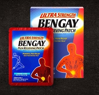 BENGAY® Ultra Strength Pain Relief Patch