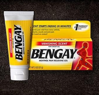 BENGAY® Vanishing Scent Pain Relief Gel