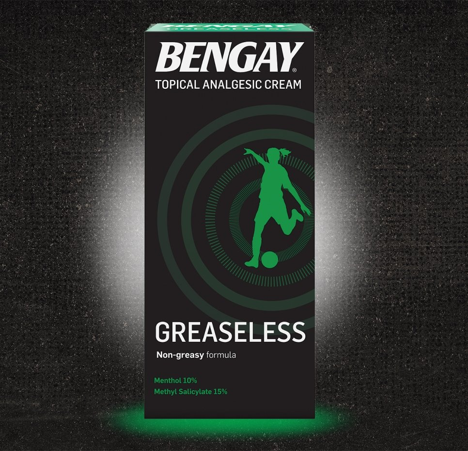 Greaseless BENGAY® Pain Relieving Cream