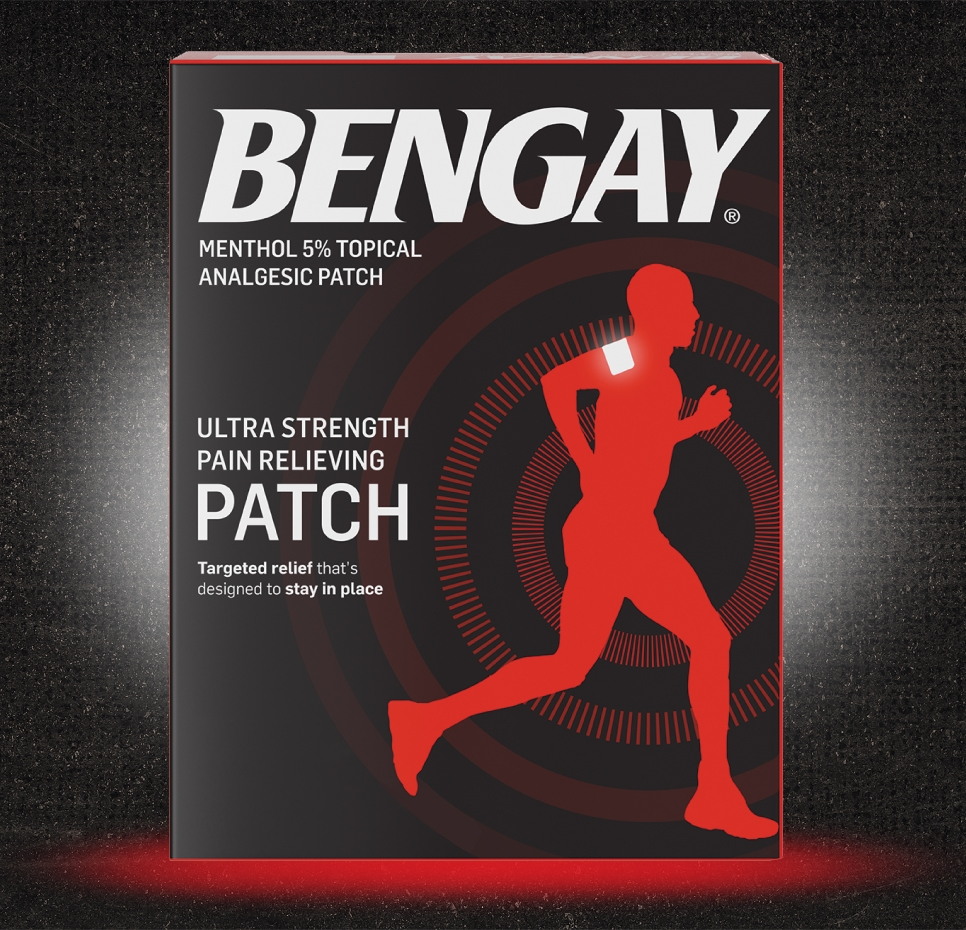 BENGAY® Ultra Strength Pain Relieving Patch